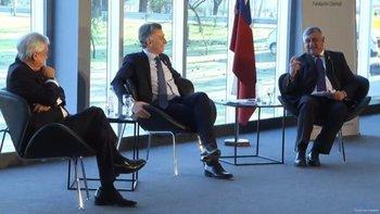 La escandalosa burla de Macri y Piñera a Alberto Fernández   Elecciones 2019