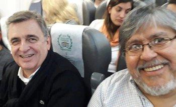 El insólito encuentro en un avión entre Negri y el 'Chino' Navarro | Elecciones 2019