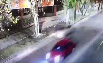 El video del momento en el que atropellan al ciclista  | Impactante video
