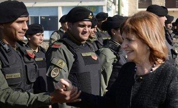 Repudiable regalo de Gendarmería a Bullrich | Involucra a maldonado
