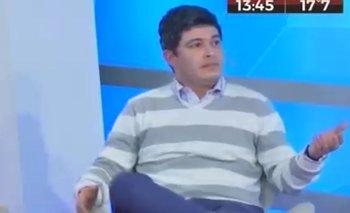 El comentario de un periodista de Crónica TV que dejó mudo a un militante de Cambiemos | Cambiemos
