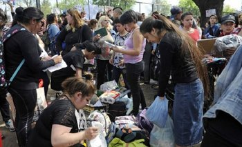 Crisis económica: en San Miguel ya hacen trueque por comida | Trueque