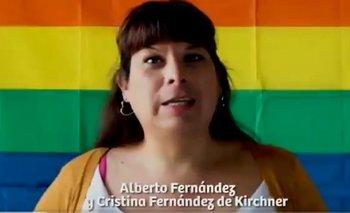 Comunidad LGBTIQ apoyó a Alberto Fernández | Video viral