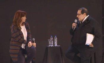 CFK lloró al recordar a Evita en un acto homenaje | Evita