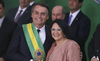 La ministra de la Mujer de Bolsonaro aseguró que a las pobres las violan por no usar ropa interior | Jair bolsonaro