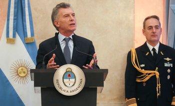 Macri homenajeó al ARA San Juan pero no dijo nada del informe del Congreso | Ara san juan
