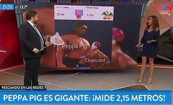 """La nueva """"investigación"""" de Nicolás Wiñazki: cuánto mide Peppa Pig   Medios"""