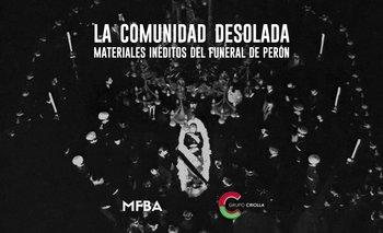 Revelan material inédito del funeral de Perón | Juan domingo perón