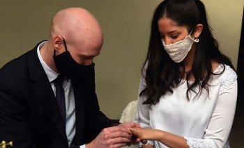 Argentina tuvo su primer casamiento en cuarentena | Coronavirus en argentina