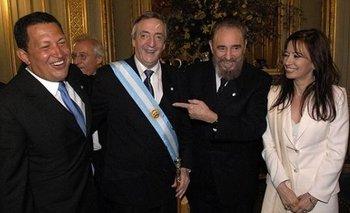 Fotos inéditas de Néstor Kirchner revolucionan las redes  | En redes