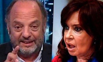 La insólita campaña de Baby Etchecopar para ensuciar a CFK | Medios
