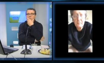 Papelón: Un diputado PRO dio una entrevista en calzoncillos | En redes