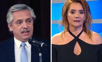 Alberto desmintió a Nancy Pazos por una fake news   Medios