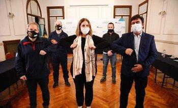 Buscan resolver los problemas de los bomberos de La Matanza   Provincia de buenos aires