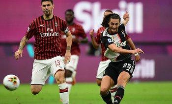 El golazo de Adrien Rabiot para adelantar a Juventus   Fútbol