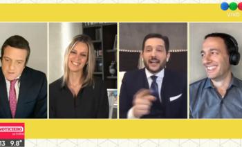 La desopilante broma de Fernando Carlos a Mauro Szeta   Televisión