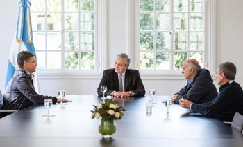 Alberto con intendentes M, tras el polémico comunicado | El crimen de fabián gutiérrez