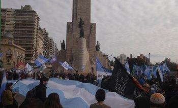 Rosario marcha en apoyo a la intervención de Vicentín | Vicentin