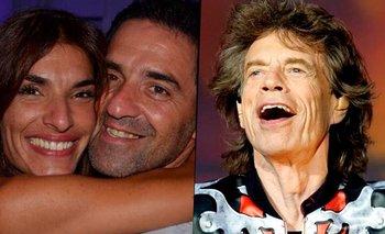 Inesperada historia de la esposa de Iúdica con Mick Jagger | Televisión