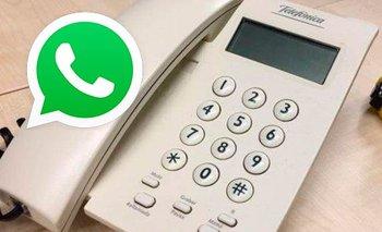 El novedoso método para usar WhatsApp en un teléfono fijo | Whatsapp
