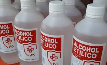 La ANMAT prohibió un alcohol etílico falsificado  | Anmat