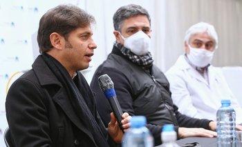 Kicillof hizo otra entrega de respiradores a Vicente López | Coronavirus en argentina
