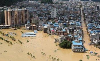 China padece una de las peores inundaciones de su historia | China