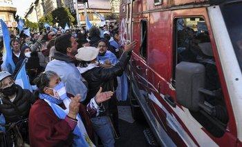 Se entregó uno de los atacantes al móvil de C5N | Coronavirus en argentina