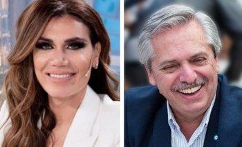 El pedido especial de Flor de la V a Alberto Fernández | Televisión
