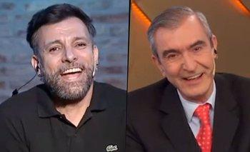 Martín Bossi le declaró su amor a Nelson Castro en vivo | Medios
