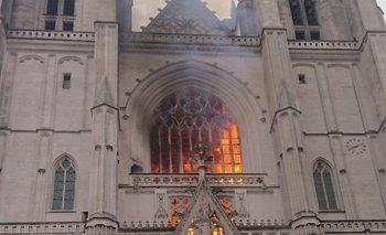 Incendio en la catedral de Nantes | Nantes