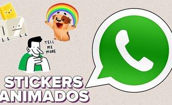 Cómo crear stickers animados para Whatsapp | Celulares