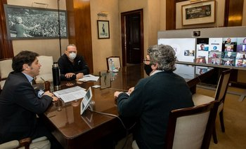 Kicillof se juntó con entidades para combatir el delito rural   Provincia