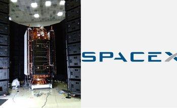 Cuál es el vínculo entre el satelite Saocom 1B y Space X | Espacio exterior