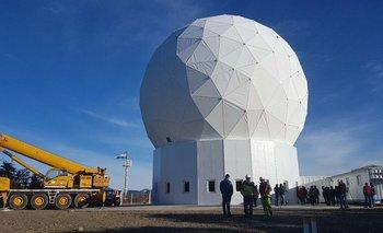 Tolhuin será la primera en recibir información del SAOCOM-1B | Espacio exterior