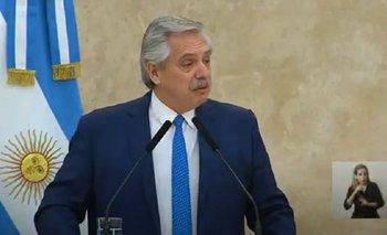 La emoción de Alberto Fernández al homenajear a las FF.AA | Alberto presidente