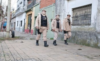Las fuerzas federales ya recorren el conurbano bonaerense | Coronavirus en argentina