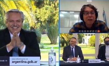 El mensaje que conmovió a Alberto Fernández | Coronavirus en argentina