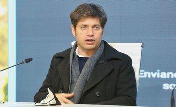 Axel Kicillof congeló la tarifa de luz hasta fin de año | Crisis económica
