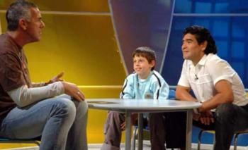 Dady se reencontró con el chico que lloró al conocer a Maradona | Medios