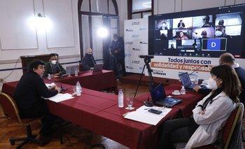Reunión de Espinoza con referentes religiosos de La Matanza   Municipios