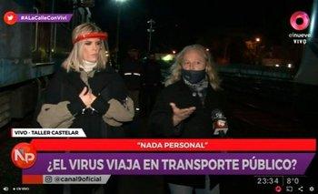 Canosa viajó en el Sarmiento sin barbijo y con casos de COVID | Coronavirus en argentina