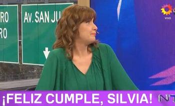 Tras desplazar a Silvia Martínez Cassina, le cantaron el cumpleaños | Canal 13