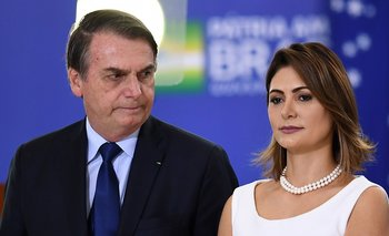La esposa de Bolsonaro dio positivo de coronavirus | Pandemia