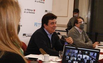 Espinoza se reunió con cámaras empresariales   Coronavirus en argentina