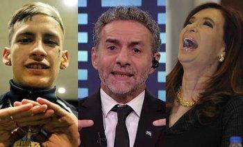 """Majul descubrió a L-Gante y acusó a CFK de promover """"machirulos""""   Televisión"""