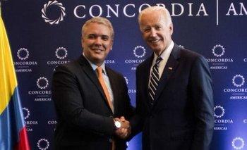 Biden y Duque: un saludo entre algodones | Aliados estratégicos