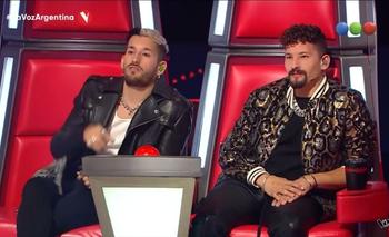 ¡Al fin! Un participante de La Voz Argentina cantó una de Mau y Ricky | La voz argentina