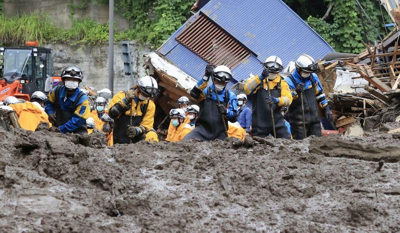 Japón busca a 80 desaparecidos tras deslizamientos de tierra   Fenómenos naturales
