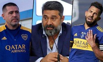 Angelici destruyó a Riquelme y dijo por qué Tevez se fue de Boca | Boca juniors